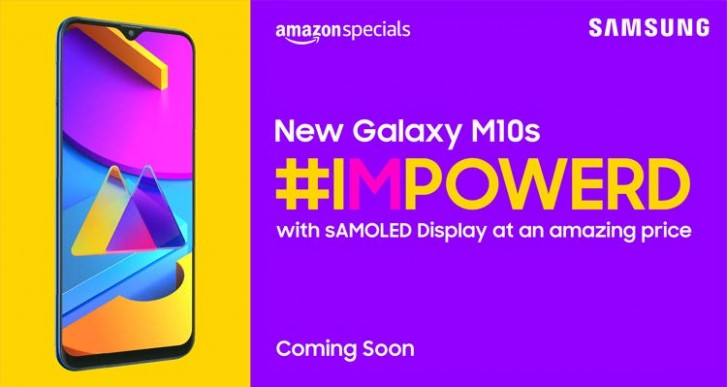 Samsung Galaxy M10s specs leak - 6.4-inch HD+ screen and 4,000mAh battery