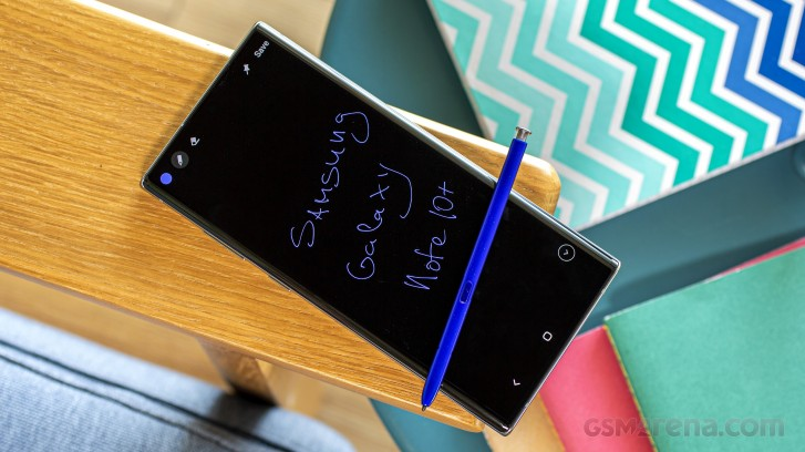 Unlocked Samsung Galaxy Note10+ 5G receiving Android 10 update