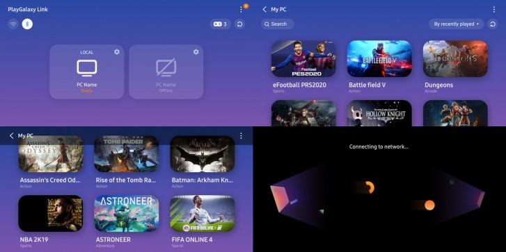 Aplikasi PlayGalaxy Link Samsung masuk ke versi beta, memungkinkan Anda mengalirkan game PC ke Galaxy Note10