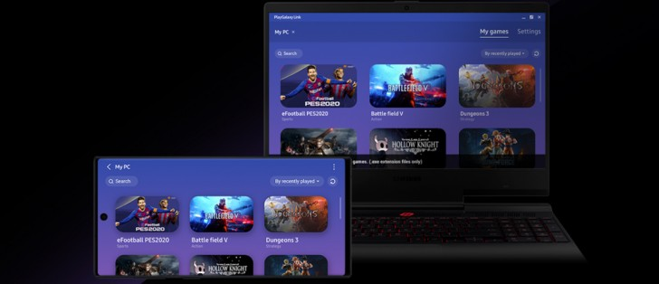 Samsung's PlayGalaxy Link app goes into beta, lets you stream PC games to your Galaxy Note10