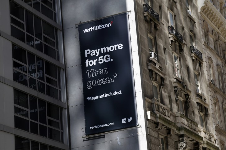 T-Mobile's latest ad campaign blasts Verizon's lack of 5G coverage maps