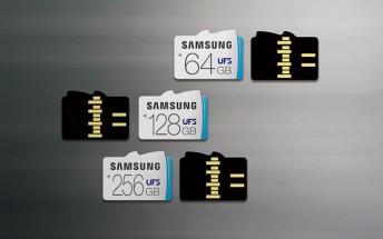 Hisense T91 prototype shows UFS cards run circles around microSD cards