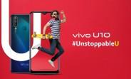 vivo U10 specs revealed ahead of tomorrow's launch