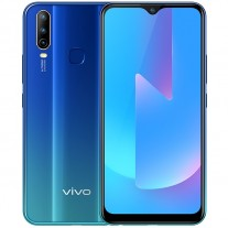 vivo U3x in Blue, Black, and Red colors