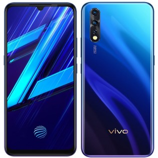 vivo Z1x in Fusion Blue color