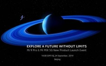 Watch Xiaomi unveil the Mi Mix 5G and Mi 9 Pro here