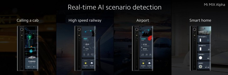 Xiaomi Mi Mix Alpha дебютирует с круглым дисплеем, 108-мегапиксельной камерой