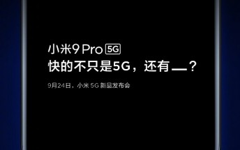 Xiaomi Mi 9 Pro 5G appears in first teaser poster