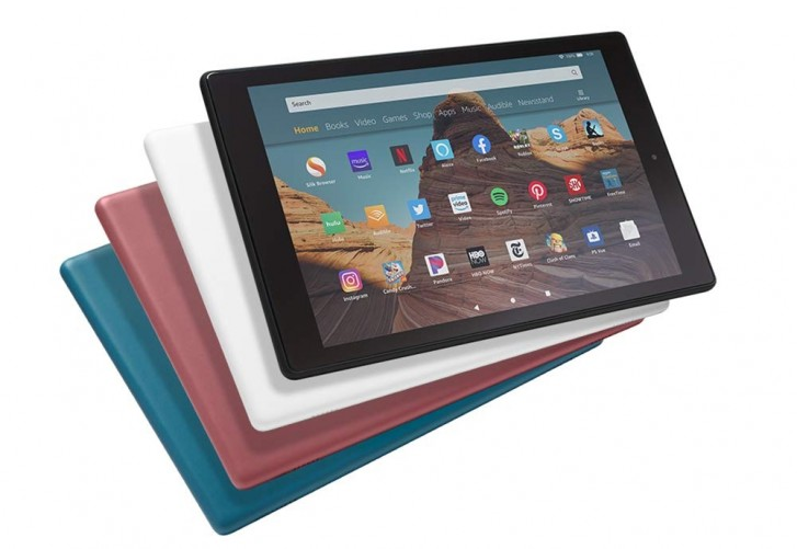 Amazon updates Fire HD 10 line with faster SoC, improved battery and USB-C alongside new Kindle Kide Edition e-reader