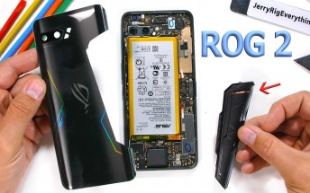 Asus ROG Phone ll teardown reveals rear vent is just for looks