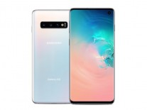 Samsung Galaxy S10 in Prism White