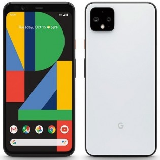 Google Pixel 4 XL in Clearly White color