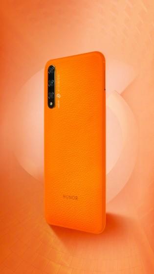 Honor 20S Orange fan interpretation