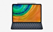 Huawei MediaPad M7 renders show a metal tablet with slimmer bezels and optional stylus and keyboard