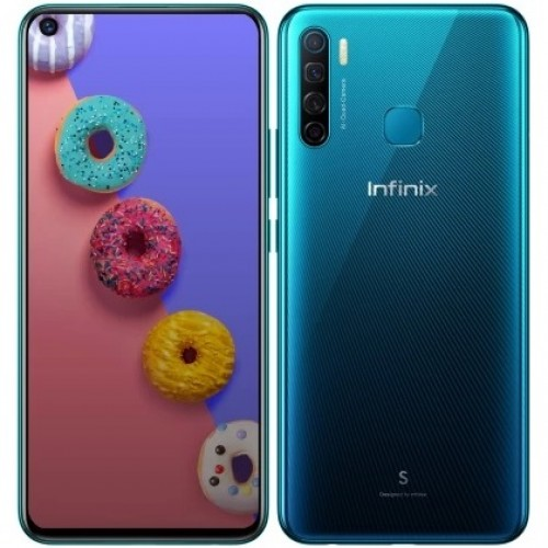 Infinix S5 announced with a Helio P22 SoC, 6.6'' punch hole display, and quad camera setup