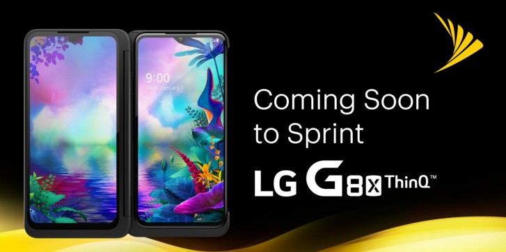 LG G8X and its Dual Screen arrive at Sprint on November 8