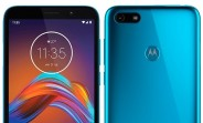 Renders of alleged Motorola Moto E6 Play surface