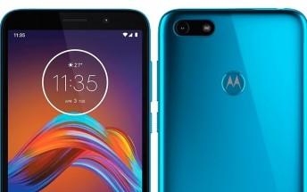 Renders of alleged Motorola Moto E6 Play surface