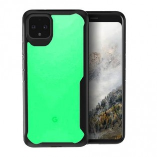 Google Pixel 4 in 'Slightly Green' and 'Really Yellow'