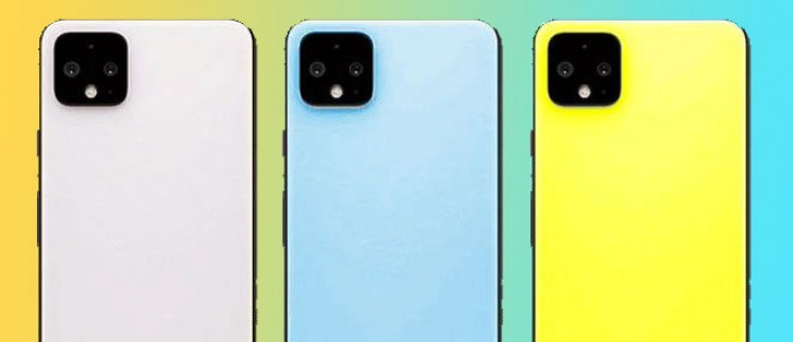 Google Pixel 4 to come in Slightly Green, Maybe Pink, Sky Blue and Really Yellow