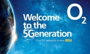 O2 launches its 5G network in six UK cities, plan costs are unchanged
