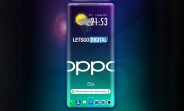 Oppo working on under-display sensors for supposed quad-curve '3D waterfall' display