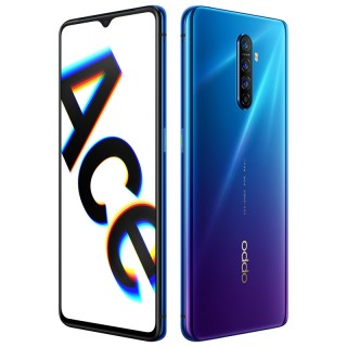 Oppo Reno Ace in Starry Blue and Psychedelic Purple