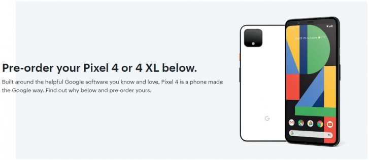 Pixel 4, 4 XL listed on Best Buy Canada with specs and images