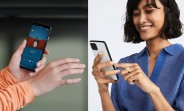 Google Pixel 4 press images show out Motion Sense gestures and face unlock