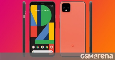 """Oh So Orange"" Google Pixel 4 shown in renders - GSMArena.com news - GSMArena.com thumbnail"