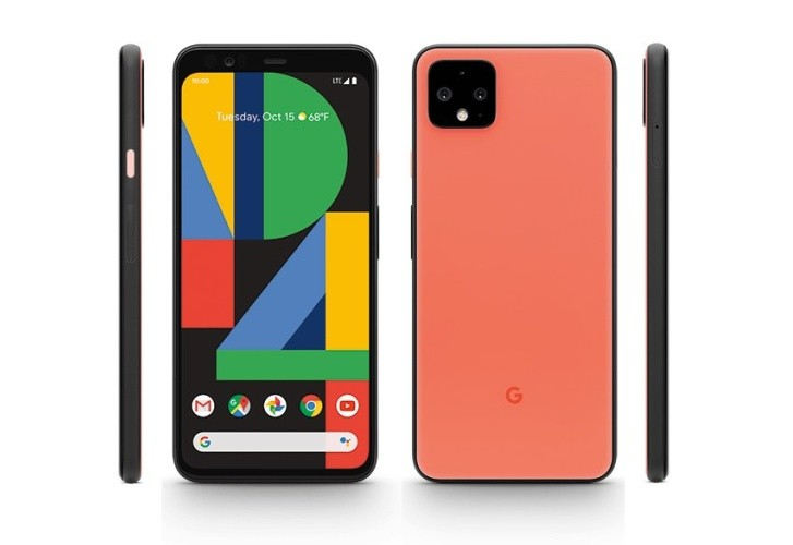 ''Oh So Orange'' Google Pixel 4 shown in renders