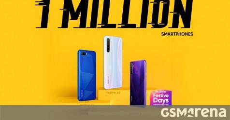 Realme is the top smartphone brand on Flipkart, it sold 1 million phones today - GSMArena.com news - GSMArena.com thumbnail