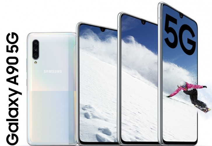 Samsung Galaxy A90 5G now available in China