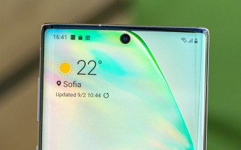 Samsung phone with under-display camera coming next year