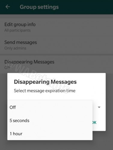 WhatsApp might soon let you send self-destructing messages