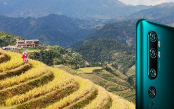 Xiaomi posts camera samples from Mi CC9 Pro, focusing on its zooming skills