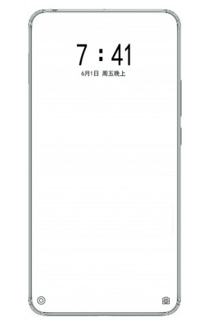 Xiaomi patents in display dual-selfie camera design
