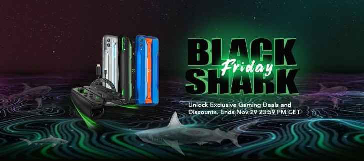 Save up to €30 on the Black Shark 2 Pro and 60% on accessories, today only