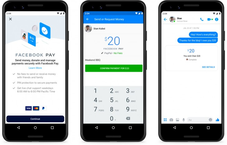 Facebook introduces 'Facebook Pay,' a new payment platform for Messenger and Facebook