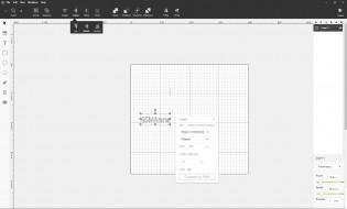 Basic editing and creation options in Beam Studio