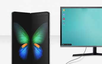 Samsung Galaxy Fold gains DeX on PC feature with latest software update