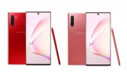 Galaxy Note10 in red and pink is now available in the US