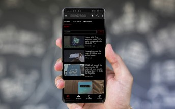 Here is the new GSMArena Android app update - Black Friday edition