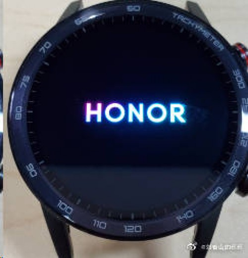 Honor Magic Watch 2 promo images show sleek design and thin bezel