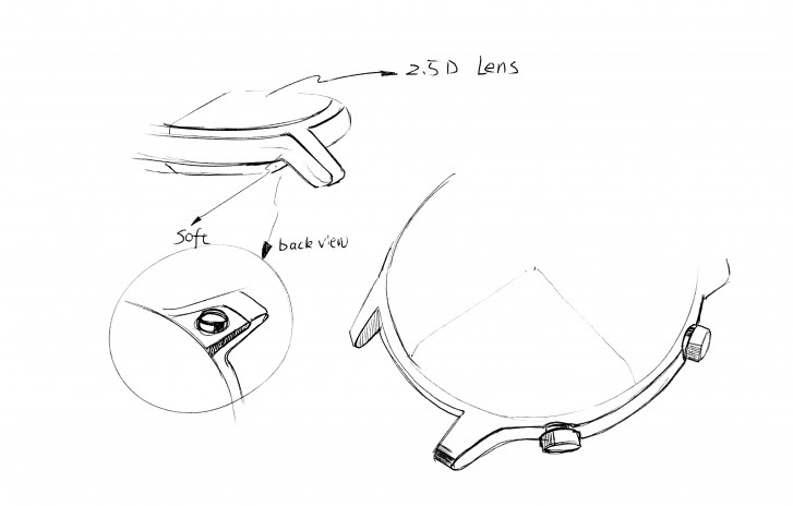 Sketches offer first glimpse of the Honor Magic Watch 2 design