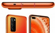 Honor V30 renders leak with dual selfie hole-punch and no headphone jack