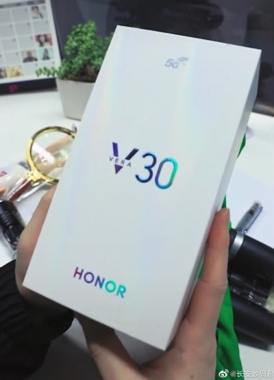 Alleged retail box of the Honor V30/Vera 30