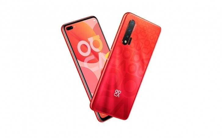 Another Huawei nova 6 5G render leaks, this time in Red