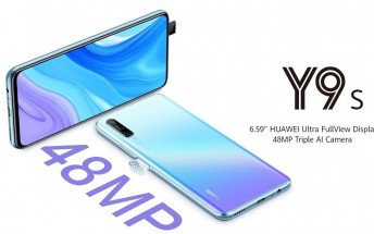 Huawei Y9s goes official with triple cameras and notch-less display