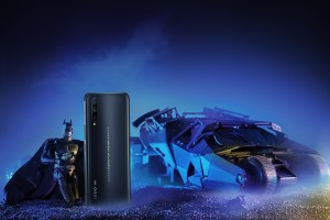 iQOO Pro 5G Batman comes with a range of Batman-themed accessories